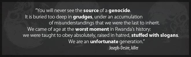 Source of genocide